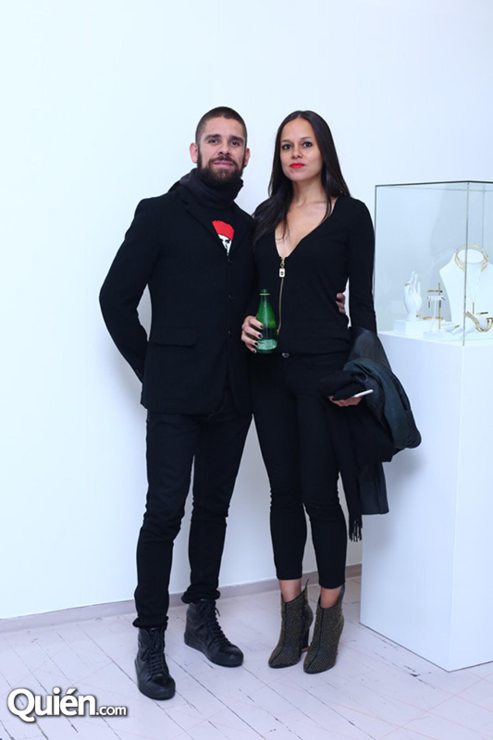 Christopher Kohen y Andrea Soria Sotelo