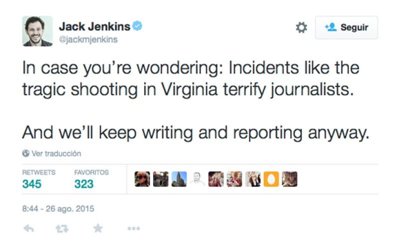 El reportero Jack Jenkins argumenta su punto de vista.