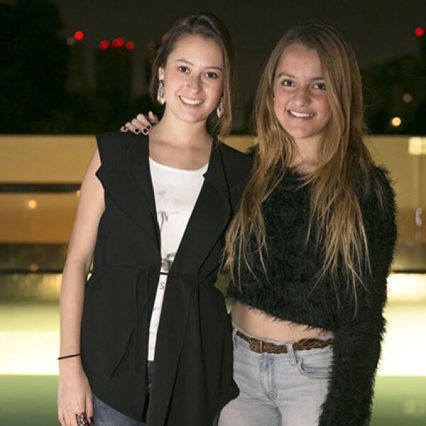 Karla Ramírez y Daniela Zapata