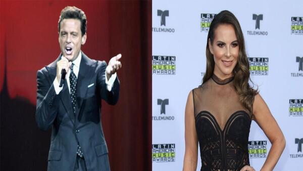 Kate Del Castillo y Luis Miguel