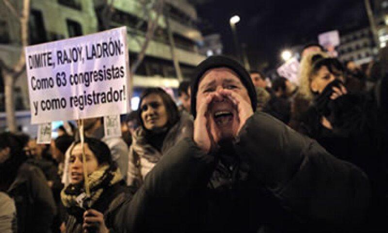 La corrupción es una de las principales preocupaciones de los españoles, junto al desempleo y la economía. (Foto: AP)