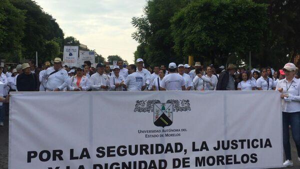 Movilización contra el gobernador