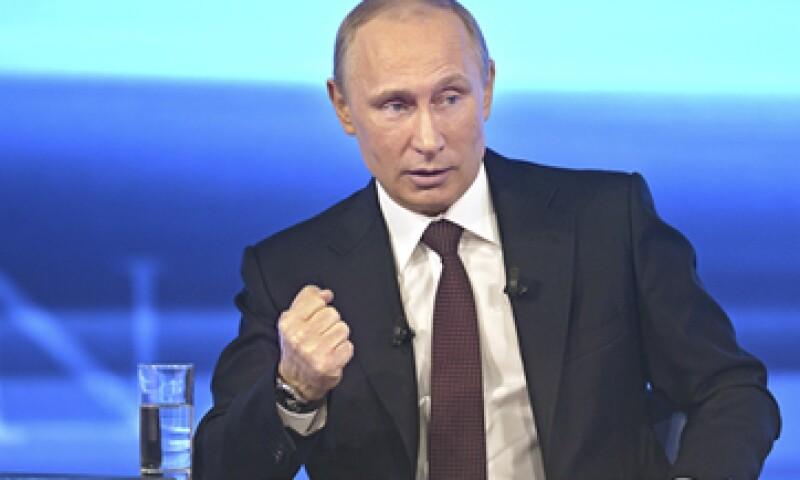 El presidente de Rusia, Vladimir Putin, dijo que el país podría cortar el suministro de gas a Europa por el impago de Ucrania. (Foto: Reuters)