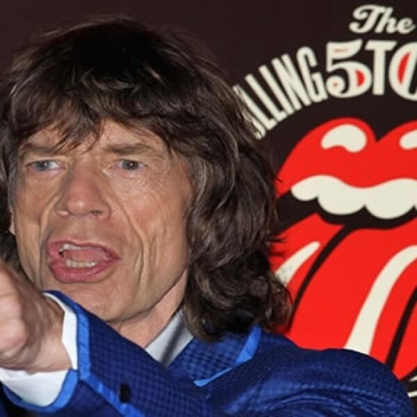 Mick Jagger Londres 2012