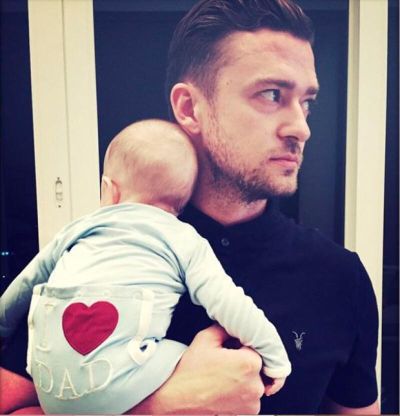 Justin reveló sus sentimientos tras escuchar la primera palabra de su hijo Silas.