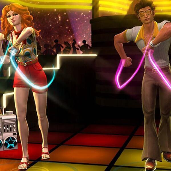 Podrás jugar hasta con tres personas al mismo tiempo, gracias a la tecnología integrada en el sensor Kinect.