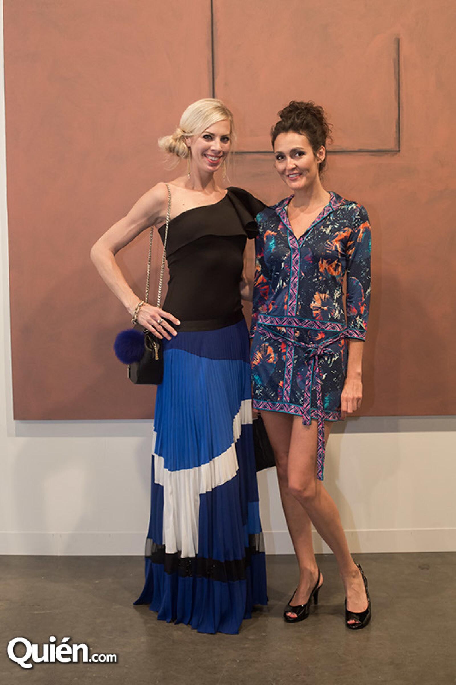 Carrie Noort y Laura Cooley