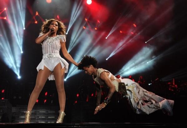 Beyoncé reunió a más de 21 personas en el Palacio de los Deportes.
