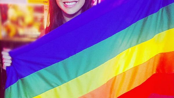 """La actriz aclaró que la frase """"soy gay"""" la publicó en apoyo a esa comunidad y enfatizó su postura contra cualquier tipo de discriminación."""
