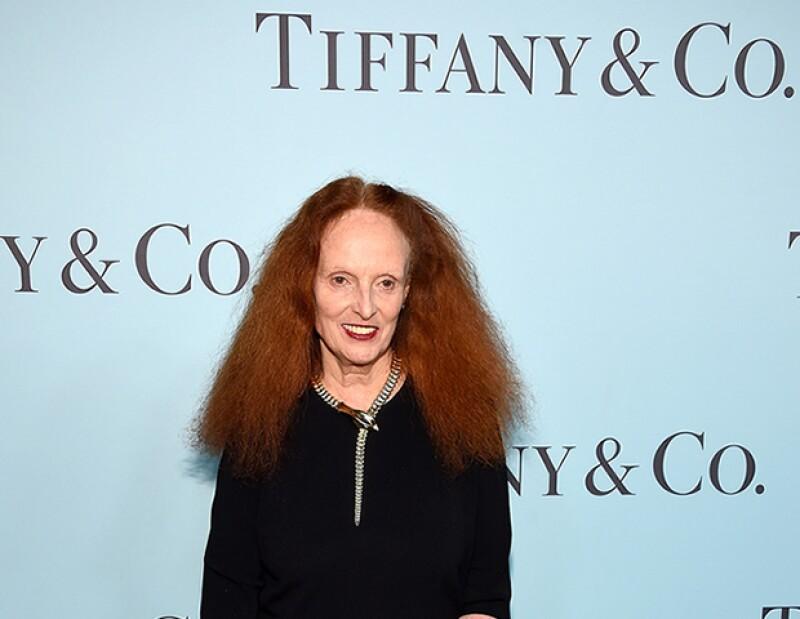 Grace Coddington está colaborando con Tiffany & Co. para la campaña de otoño invierno.