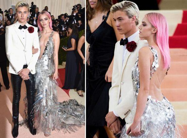 Lucky y Pyper arribaron juntos a la Gala del Met.
