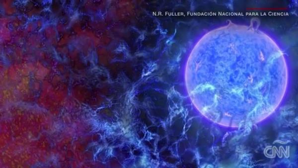 Científicos detectan rastros de la primera luz en el universo