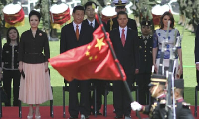 Los presidentes de ambos países firmaron una declaración conjunta tras su reunión. (Foto: Cuartoscuro)