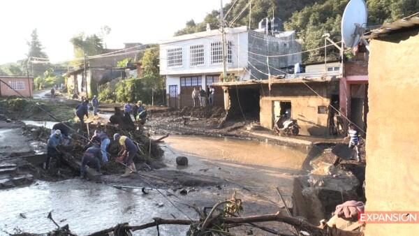 Inundaciones Michoacan