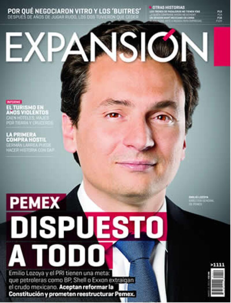 El director general de Pemex explicó a la revista Expansión su visión estratégica para el sector petrolero. (Foto: Alfredo Pelcastre/ Mondaphoto)