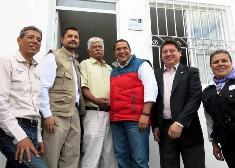 Entrega de vivienda en Aguascalientes y Zacatecas