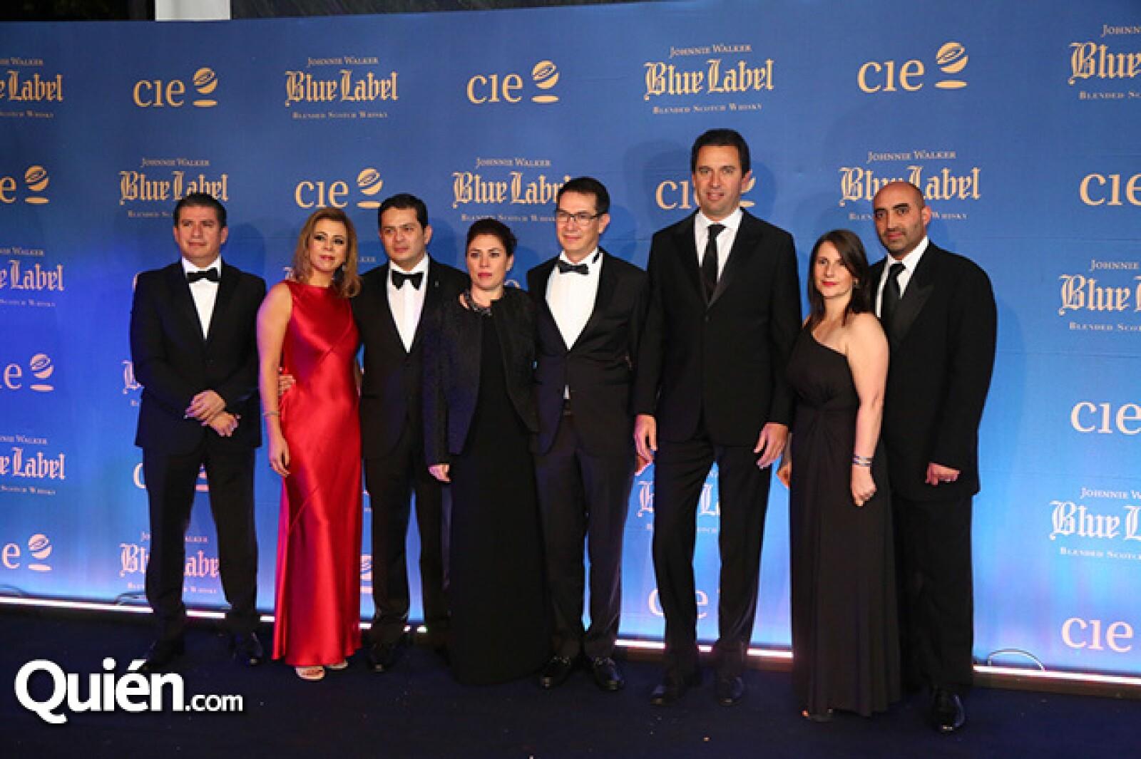 Josafat Rodríguez, Zayda Magaña, Carlos Magaña, Leticia y Erik Seiersen, Alberto Gavazzi, Mónica Michelle y Pedro Cosío