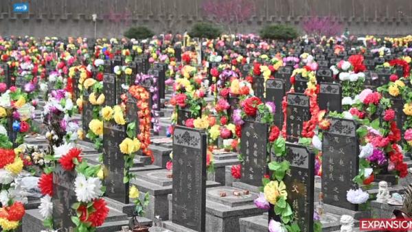 tumbas en China