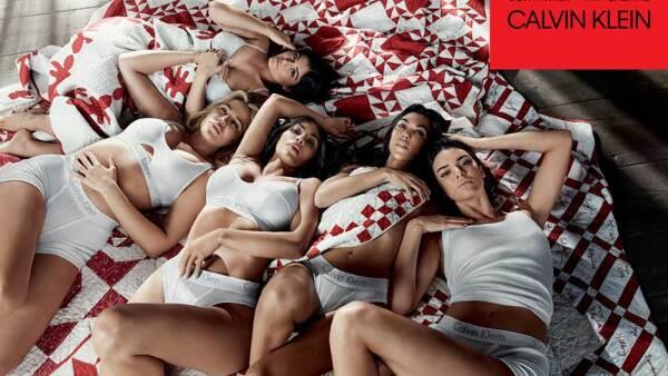 Las kardashian forman parte de la nueva campaña calvin klein