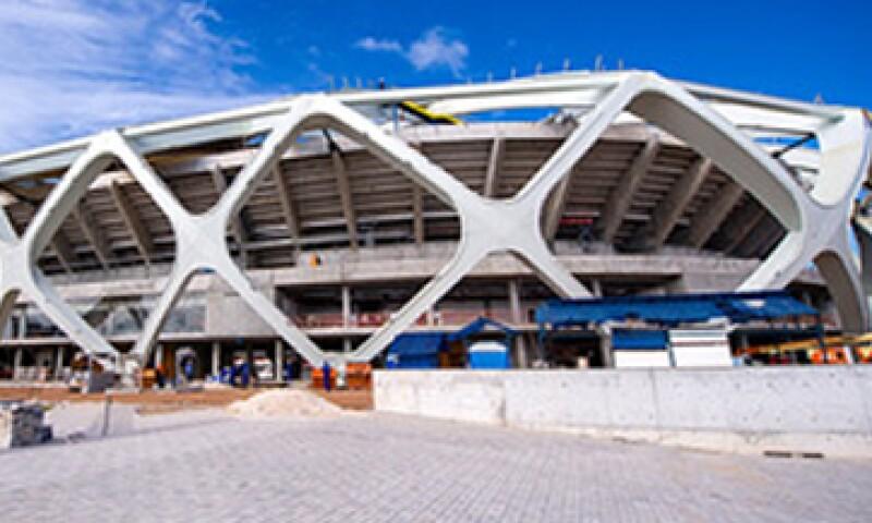 El estadio evoca una canasta indígena tejida. (Foto: Cortesía de Cemex)
