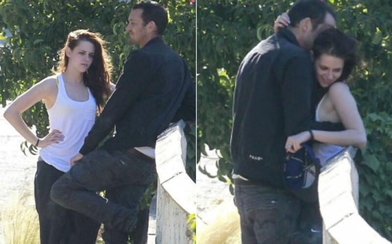 Estas imágenes le causaron a Kristen y Rupert el rompimiento con sus entonces parejas.
