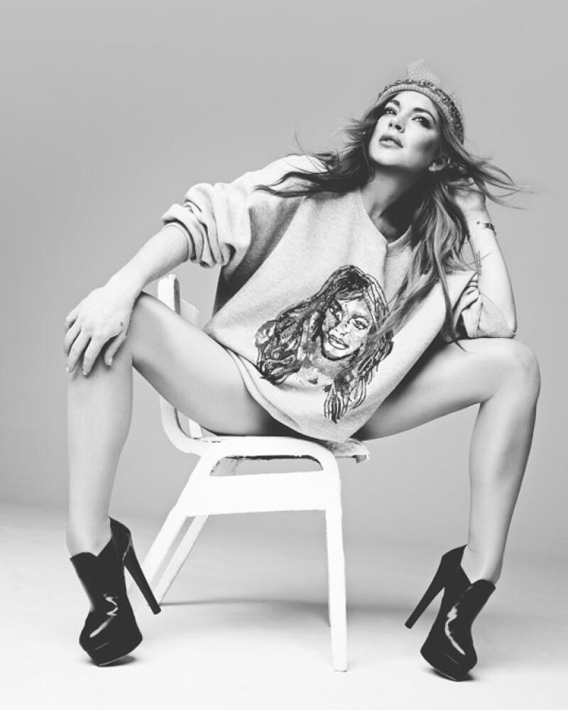 La cantante ha recibido buenas críticas por su sesión de fotos para el medio inglés.