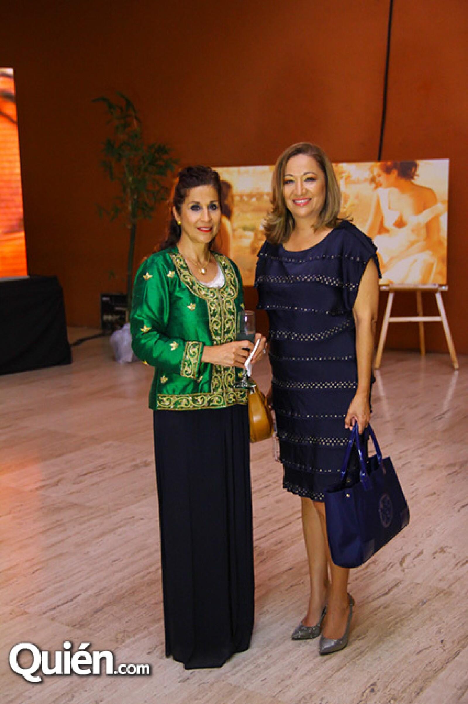 liliana García y Angeles Wong