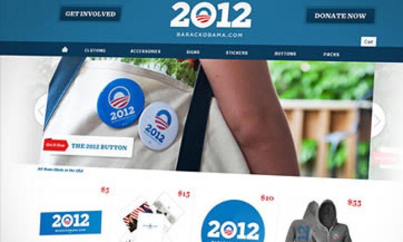"""La campaña de Obama hacia el 2012 se adelantó al """"CyberMonday"""", día en que salen las ofertas por Internet. (Foto: Cortesía CNNMoney)"""