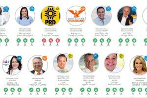 Entre los aspirantes a las curules de los congresos locales que se sumaron a la iniciativa tampoco hay partidarios de Morena.