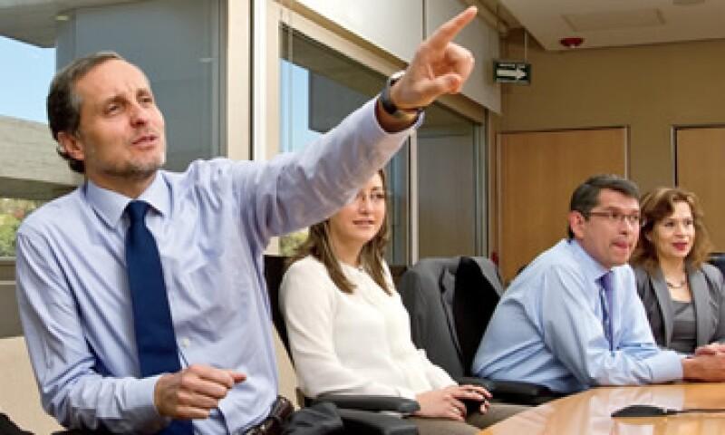 """""""Ser la panificadora más grande del mundo tiene muchos retos, y estoy consciente de que caerse desde más alto duele más"""", afirma Daniel Servitje, CEO de Bimbo. (Foto: Duilio Rodríguez)"""