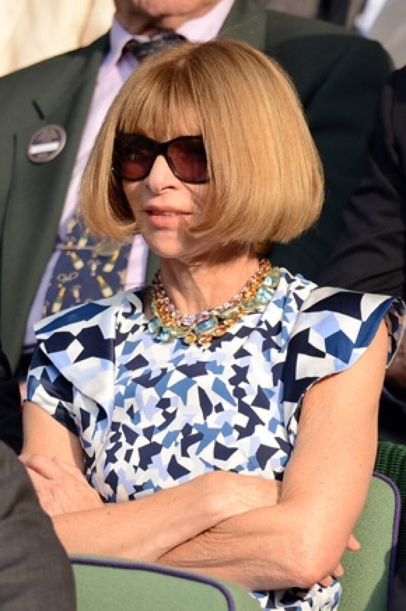 Anna Wintour no está muy convencida de querer publicar por primera vez a la hija de Kim y Kanye.