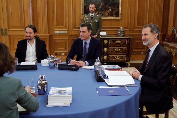 King Felipe VI Chairs The Meeting Of The National Security Council