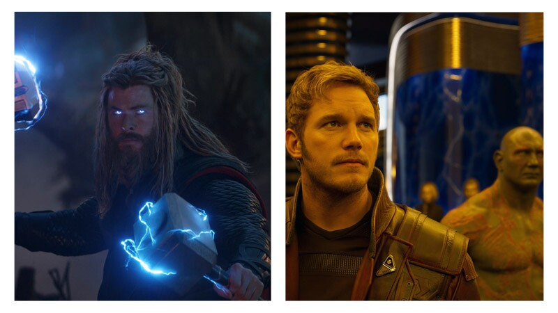 Thor y Guardians of the Galaxy