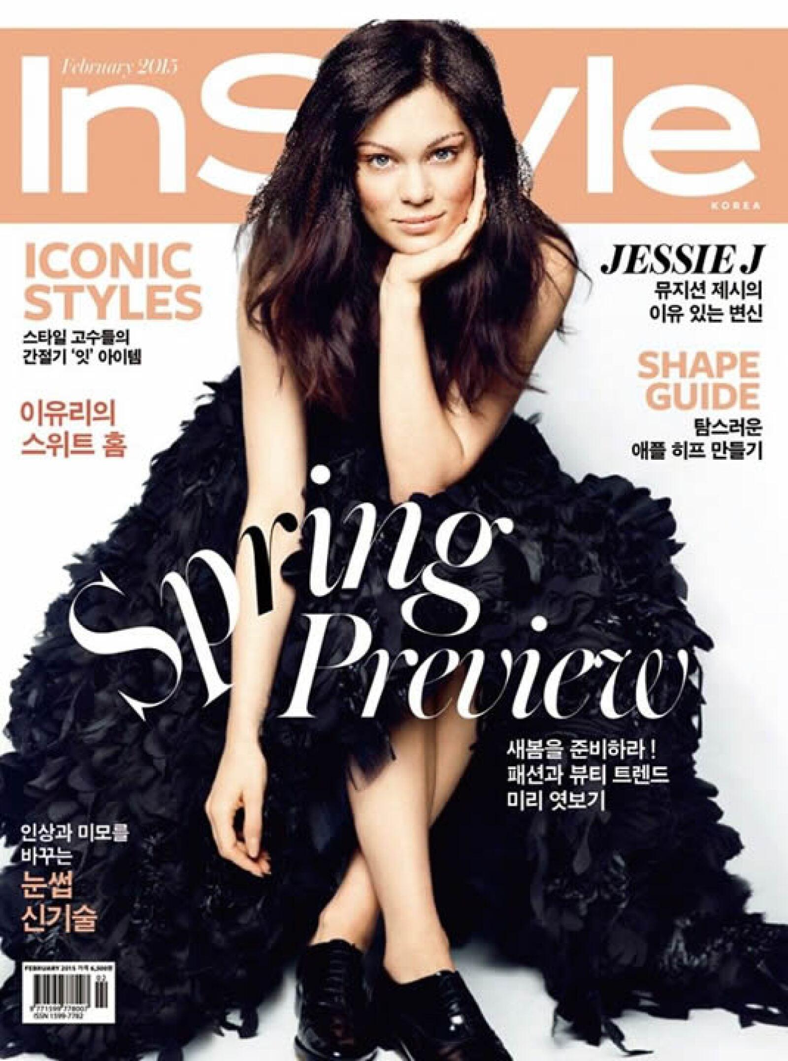 La revista InStyle de Corea, eligió a Jessie J. para su portada.