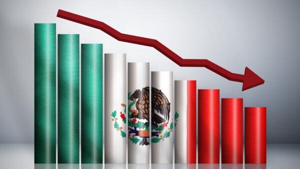 UBS contracción económica México