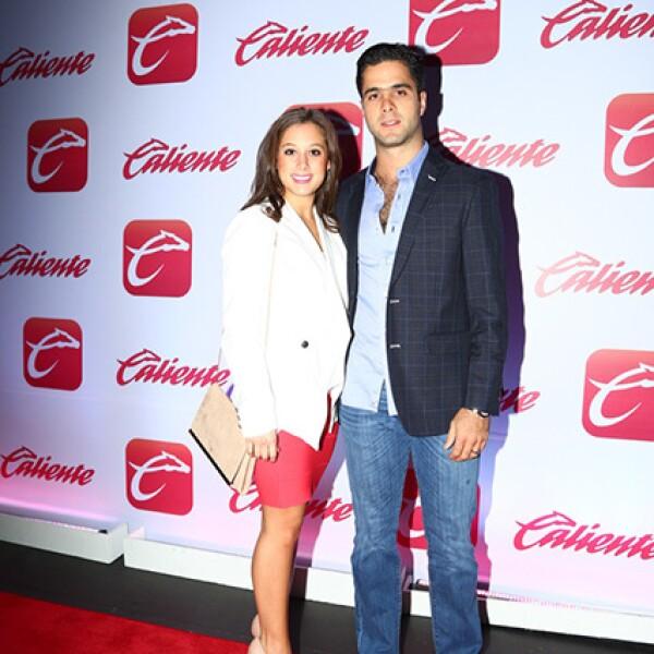 Teresa Villarreal y Benjamin de la Garza