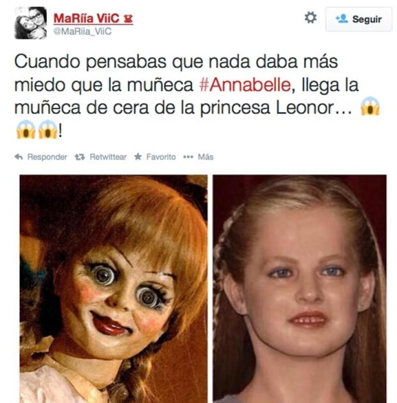 La réplica de la hija de Letizia y Felipe de España no se salvó de las burlas en Twitter luego de que fuera presentada hace unos días. Rápidamente se hicieron virales varios memes al respecto.