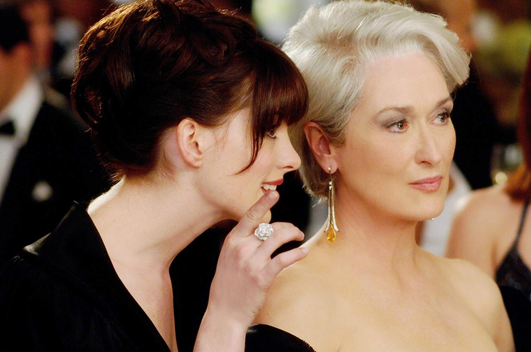 Anne Hathaway Meryl Streep
