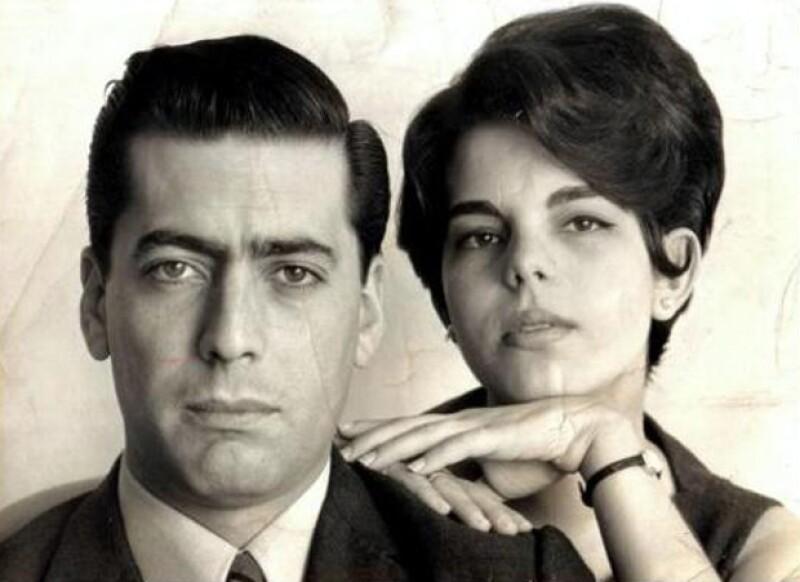 Así lucía la pareja de Mario y Patricia cuando comenzaron su relación. Él le didicaría un emotivo discurso cuando le otorgaron el premio Nobel de Literatura 2010, llamándola `la prima de naricita respingadita´.