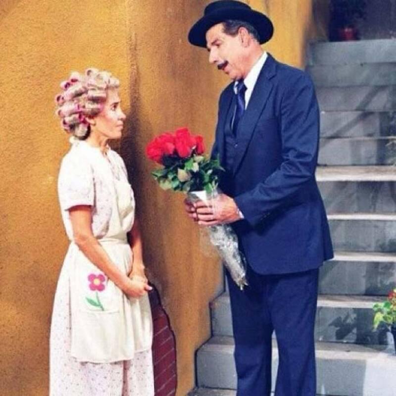 La polémica continúa sobre los amores del pasado de la viuda de Chespirito, por lo que en un programa de televisión, &#39Doña Florinda&#39 aprovechó para revelar algunas detalles de su pasado.