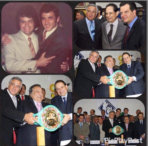 Estas son las fotos que compartió Miguel Torruco de su compadre y amigo.