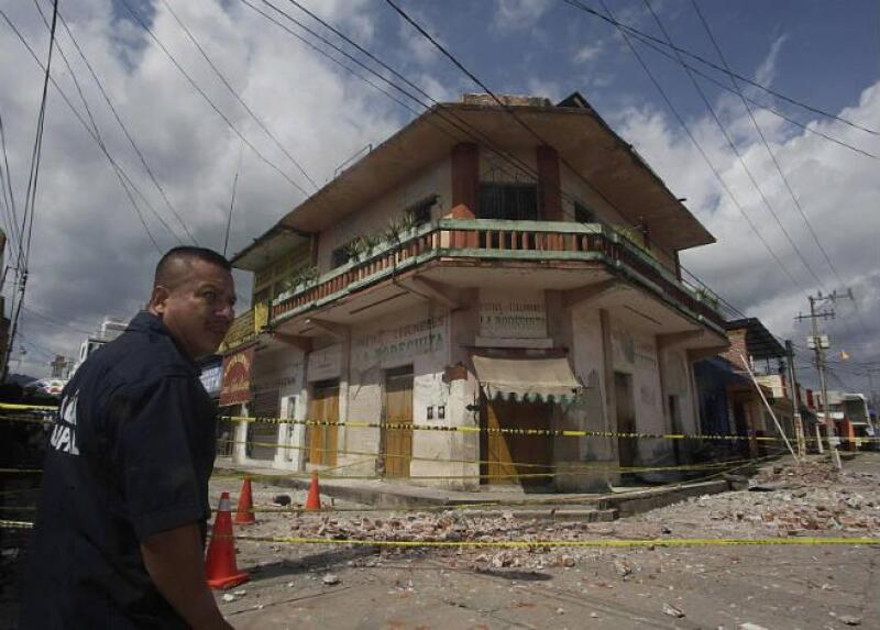 Chiapas tras sismo