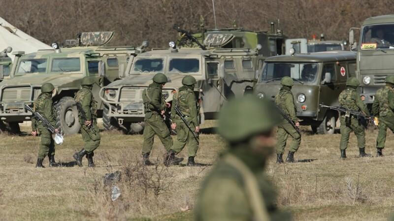 Crimea militares protestas 6