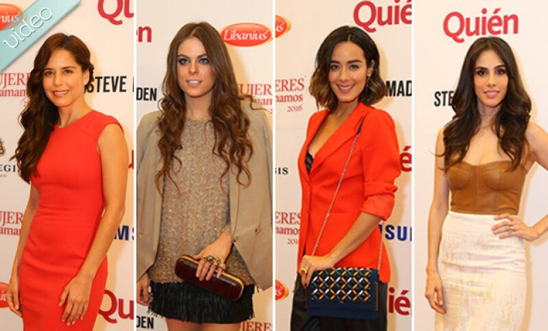 Sandra Echeverría, Esmeralda Pimentel, Yael Sandler y más, fueron las celebridades que desfilaron por nuestra red carpet y nos compartieron un poco de su estilo.