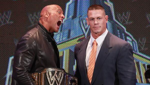 The Rock y John Cena