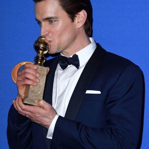 Matt Bomer se llevó un premio a casa en la categoría Mejor actor de reparto en una mini serie o película para televisión por The Normal Heart.