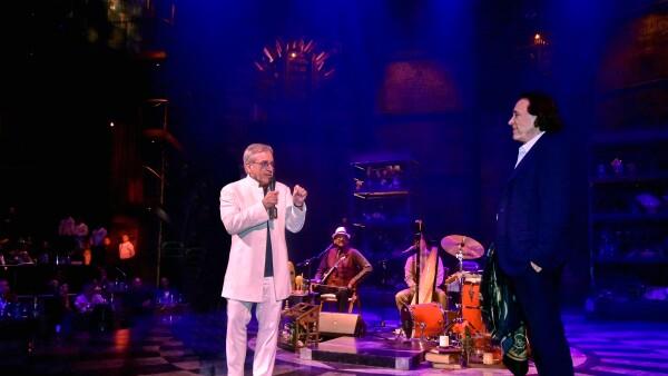 A la izquierda, Daniel Lamarre, presidente y CEO de Cirque Du Soleil, a la derecha, Daniel Chávez Mora, fundador de Grupo Vidanta.