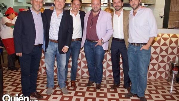Marco McCluskey,Felipe Williamson,Pedro Roca de Togares,Dilay González,Neal Tritton y Roger Enríquez.