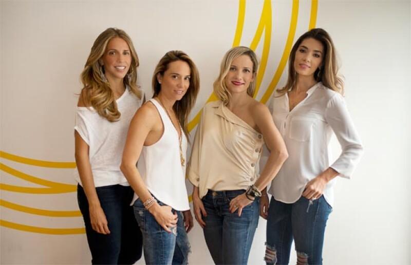 Las socias Vanessa Piña, Emilce Carrillo, Pamela Padilla y María José Terroba impulsan el método de ejercicio más Trendy de Nueva York y Los Ángeles.