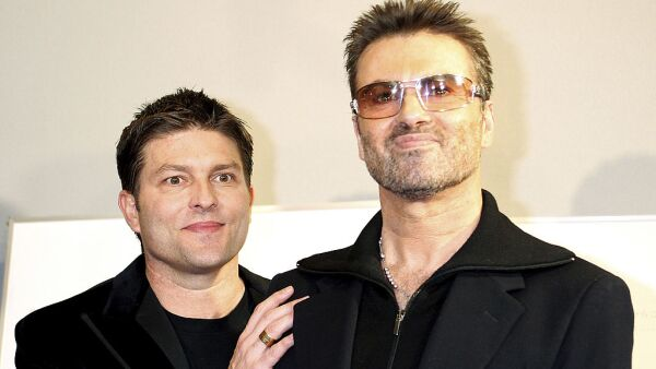 """George Michael Promotes """"A Different Story"""""""